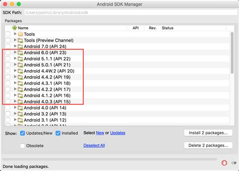 android api versions can not downgrade the android api version stack overflow