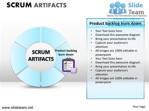 agile artifacts templates scrum process powerpoint ppt slides