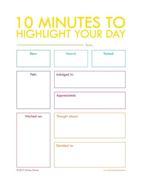printable daily journal sheets 25 b 228 sta journal pages printable id 233 erna p 229 pinterest