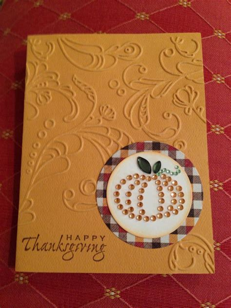 Thanksgiving Cards Handmade - 17 best ideas about handmade thanksgiving cards on