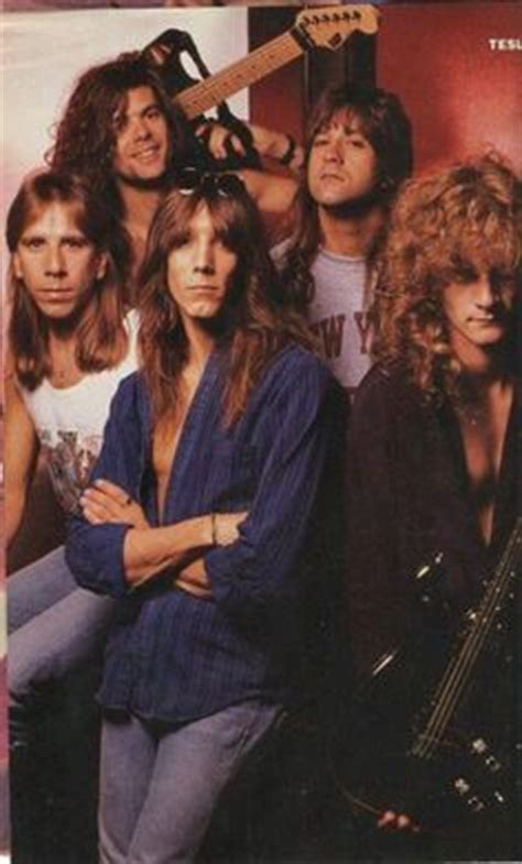 Tesla The Rock Band The Big Hair Bands On Skid Row Guns N
