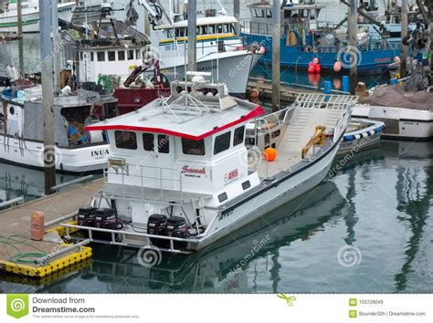 alaska fishing boat season commercial fishing boats getting ready for the salmon
