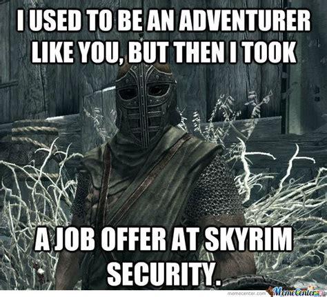 Skyrim Meme - 42 funniest skyrim memes and comics