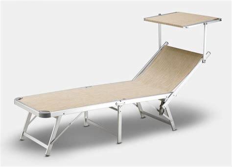 sdraio da terrazzo lettino mare pieghevole portatile sdraio alluminio