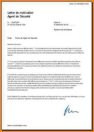 Lettre De Motivation De Securite lettre de motivation de s 233 curit 233 debutant lettre