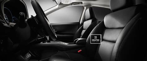 leather trimmed upholstery 2016 honda hr v features detail official site