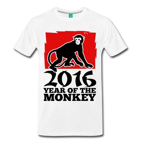 new year monkey shirts 2016 year of the monkey t shirt spreadshirt