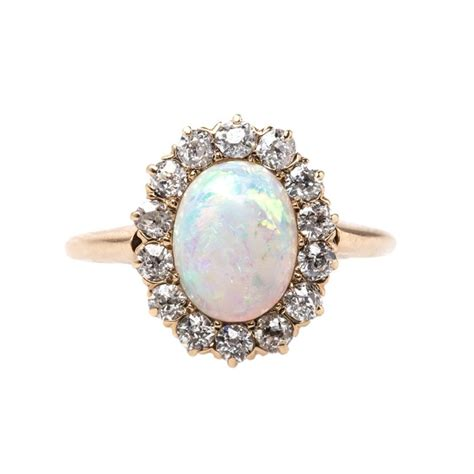 lindenwald is a sweet opal and vintage ring from