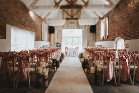function rooms in grimsby healing manor hotel barn wedding venue near grimsby and adam civil ceremony set up