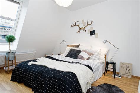 nordic bedroom timeless design for modern scandinavian attic apartment