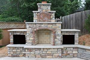 Natural Stone Outdoor Fireplace - lawn amp garden diy outdoor fireplace modern style of corner fireplace designs the as wells as f