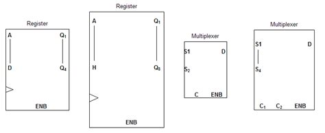 integrated circuit component circuit component symbols for integrated circuit drawings