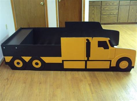 semi truck bed buy a custom semi tractor truck twin kids bed frame