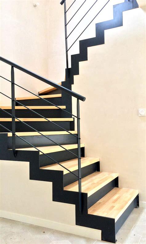 Escalier Decoration Interieur by Escalier M 233 Tallique Contemporain Demi Tournant