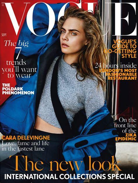 Miller Lands The September Cover Of Us Vogue by Cara Delevingne Covers Vogue September 2016 Edition