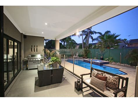 outdoor area outdoor living design with bbq area from a real australian
