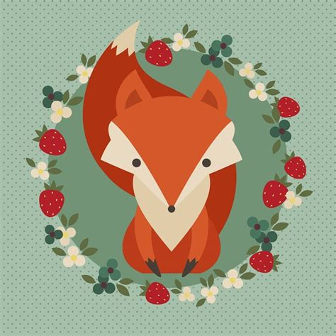 tutorial illustrator drawing how to create a retro fox illustration in adobe illustrator