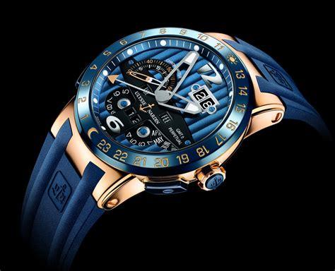 Ulysse Nardi blue toro el nuevo reloj de ulysse nardin
