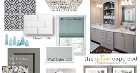 the yellow cape cod client project foyer before and after the yellow cape cod gray and white master bathroom with