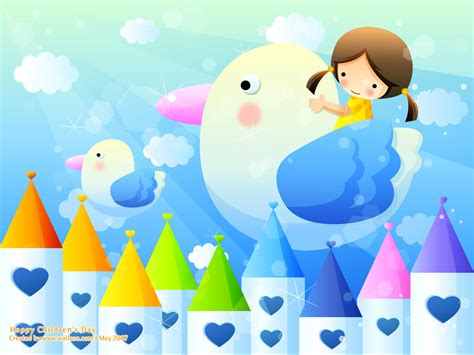 childrens wallpapers children s day wallpaper greetings kids fun drawing art