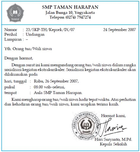 contoh surat jawaban pengaduan wisata dan info sumbar