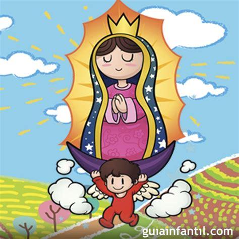 imagenes virgen de guadalupe niña la virgen de guadalupe images cartoon adultcartoon co