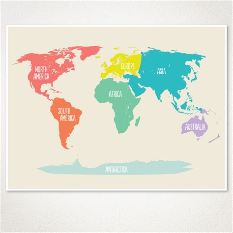 world map nursery room decor baby nursery playroom