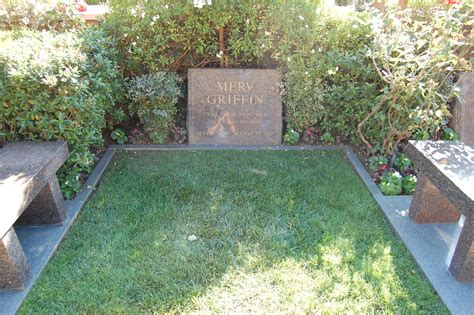 at grave file merv griffin grave at westwood memorial park cemetery in brentwood