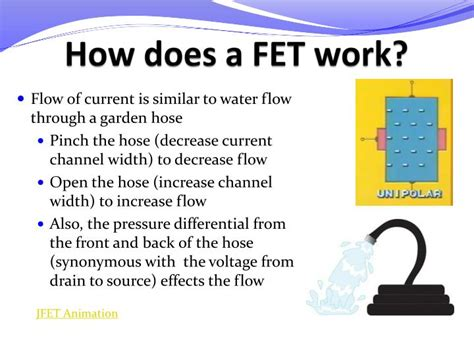how fet transistors work ppt me 6405 student lecture transistors powerpoint presentation id 1134078