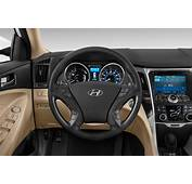 2015 Hyundai Sonata Hybrid Steering Wheel Interior Photo