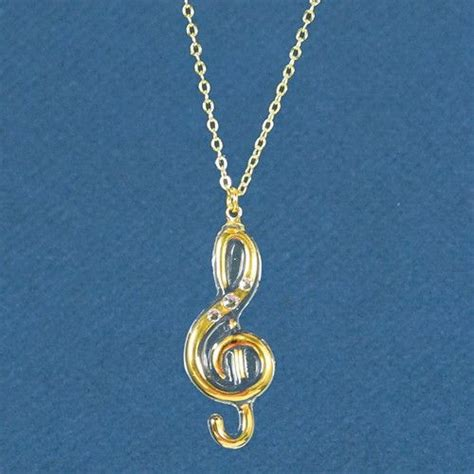 Glass Baron Handmade Glass Jewelry - glass baron treble clef necklace products treble clef