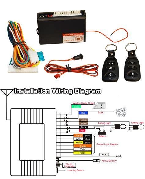 remote central locking wiring diagram wiring diagram manual