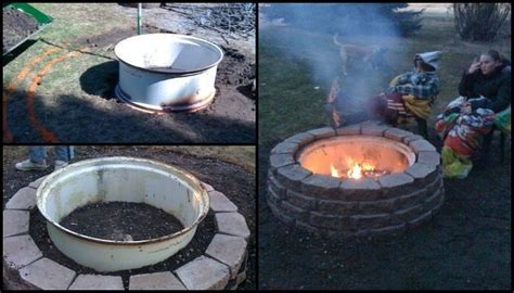 Build a tractor rim fire pit for your yard   DIY projects