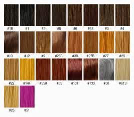 wig color chart blackfridaysale capless 100 human hair look