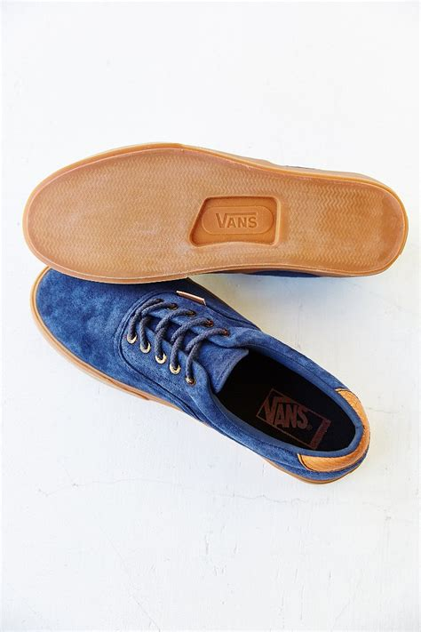 Sepatu Vans Era Navy Gum Sepatu Vans Premium Pria Wanita vans era 59 california suede gum sole s sneaker in blue for lyst