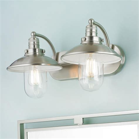 lighting fixtures bathroom schooner bath light 2 light bath light vanities and