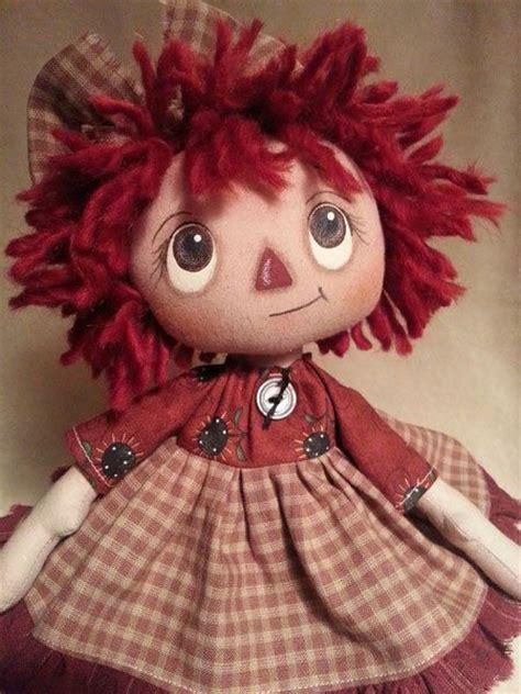 Handmade Raggedy Dolls - handmade primitive raggedy doll prim sunflowers