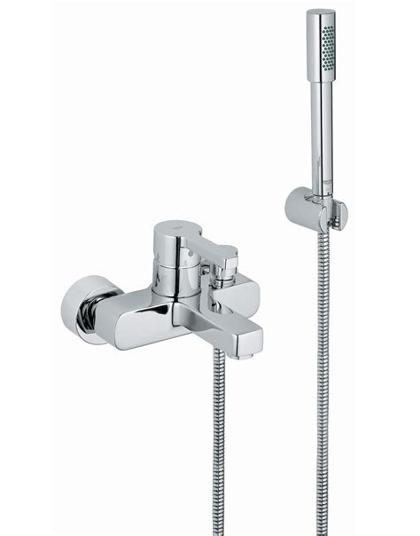 single lever bath shower mixer tap grohe lineare single lever bath shower mixer tap with shower kit