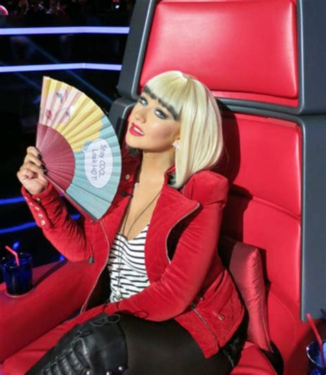 Aguilera Is A Chameleon by The Voice Aguilera S Ranked From