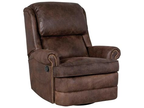 leather glider recliner chairs classic leather chesapeake box cushion swivel glider