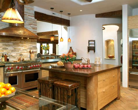 Eclectic Kitchen Designs Santa Fe Style Kitchen Eclectic Kitchen San Diego By Hamilton Gray Design Inc