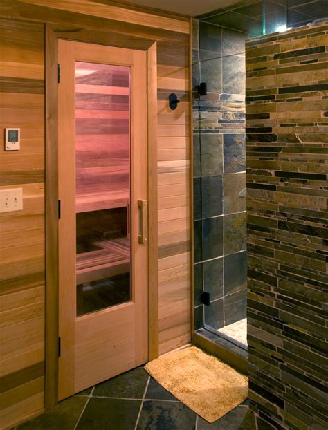 sauna bathroom bathroom sauna showers contemporary bathroom with shower