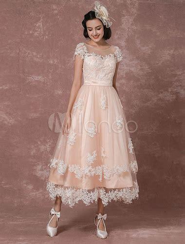 hochzeitskleid vintage kurz vintage brautkleid r 252 ckenfrei hochzeitskleid kurz mit