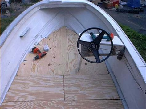 fishing boat floor repair how to repair a boat s fiberglass floor
