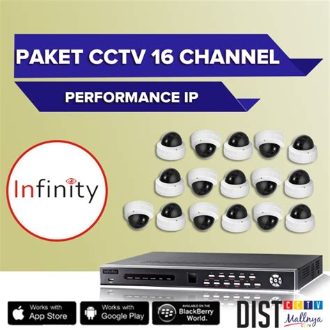 paket cctv infinity 16 channel performance ip