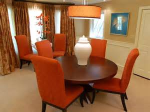 Orange Dining Rooms by 25 Colorful Rooms We Love From Hgtv Fans Color Palette