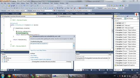 mvc tutorial questions c asp net mvc3 tutorials your first asp net mvc not