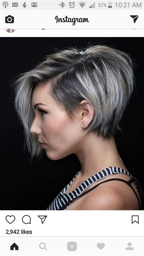 Grey Hairstyles For Black 50 by 50 Black And Grey Ombre Hairstyles 53 Nona Gaya