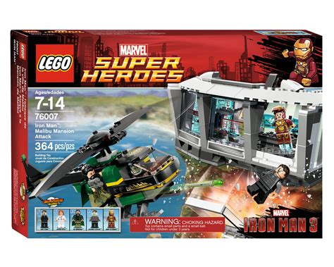 Lego 76007 Iron Malibu Mansion Attack brickshelf gallery lego heroes 76007 iron malibu mansion attack