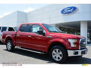 Ford Ruby 2015 Ford F150 Xlt Supercrew In Ruby Metallic A95887